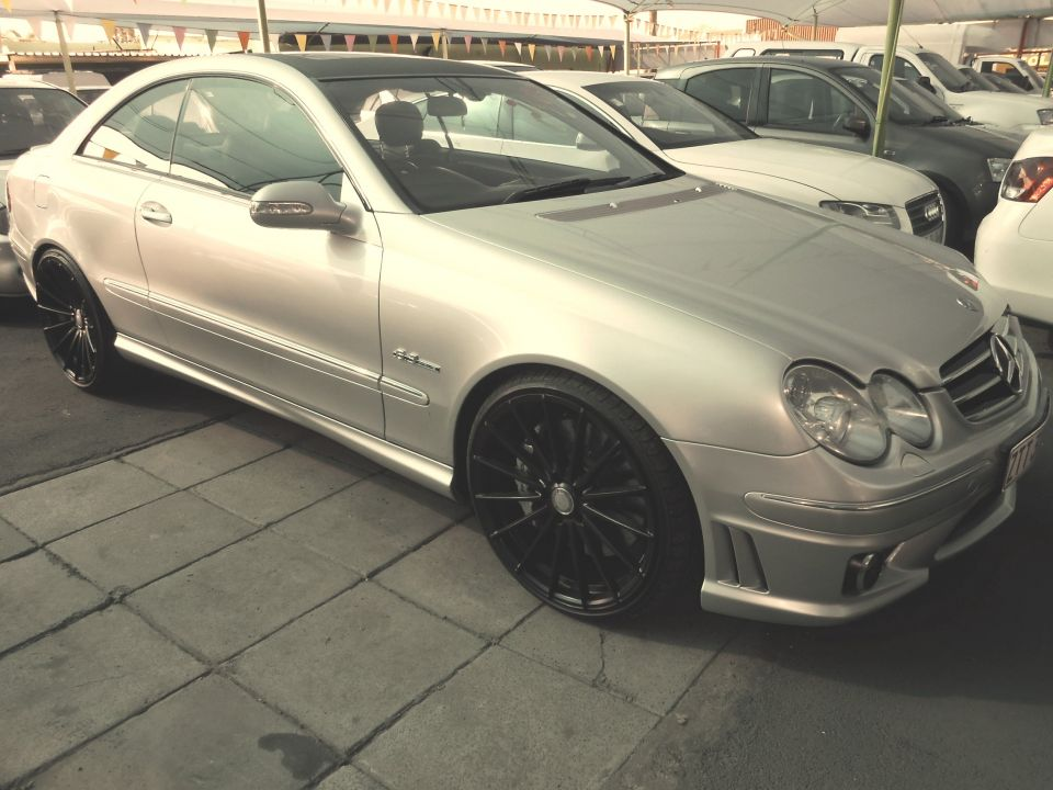 Mercedes benz clk 63 amg coupe for sale in roodepoort gauteng for Mercedes benz clk63 amg for sale