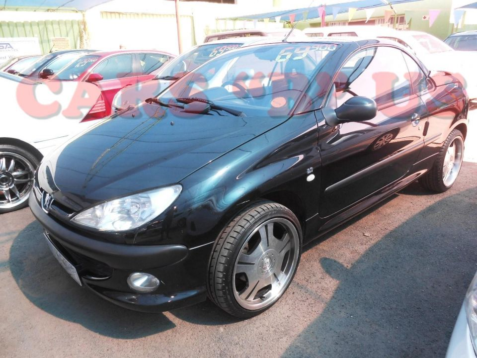 peugeot 206 206 2 0 coupe cabriolet for sale in roodepoort gauteng. Black Bedroom Furniture Sets. Home Design Ideas